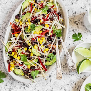 Mexican Bowl with lime